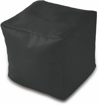 Dolphin Bean Bags Small DOLPHIN PUFFY BEAN BAG-BLACK -With Fillers/Beans Bean Bag  With Bean Filling