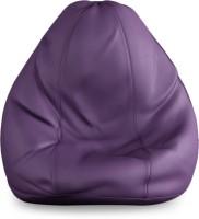 Beans Bag House XXL Bean Bag Cover(Purple)