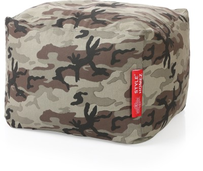 Style Homez Large Bean Bag Cover(Multicolor)