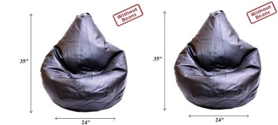 Raveda Large Teardrop Bean Bag  Cover (Without Filling)