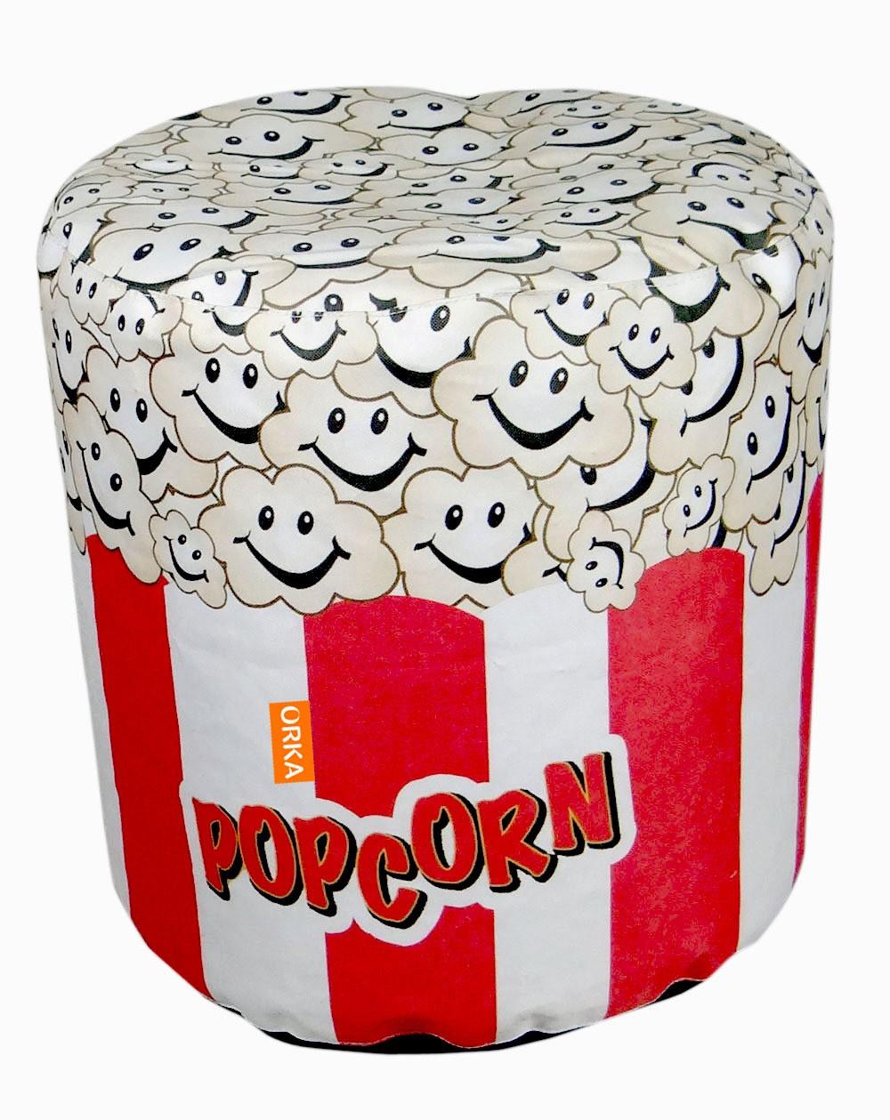 View Orka Bean Bags XXL Bean Bag Cover(Red, White) Furniture (Orka Bean Bags)