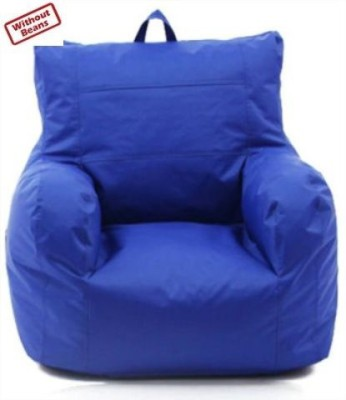 Bean Bag World XXXL blue relax sofa Bean Bag Sofa  Cover (Without Filling)