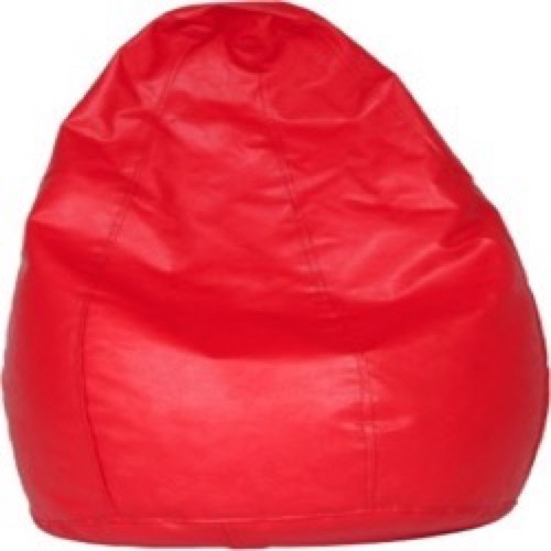 View Mr.Lazy XXXL Bean Bag  With Bean Filling(Red) Furniture (Mr.Lazy)