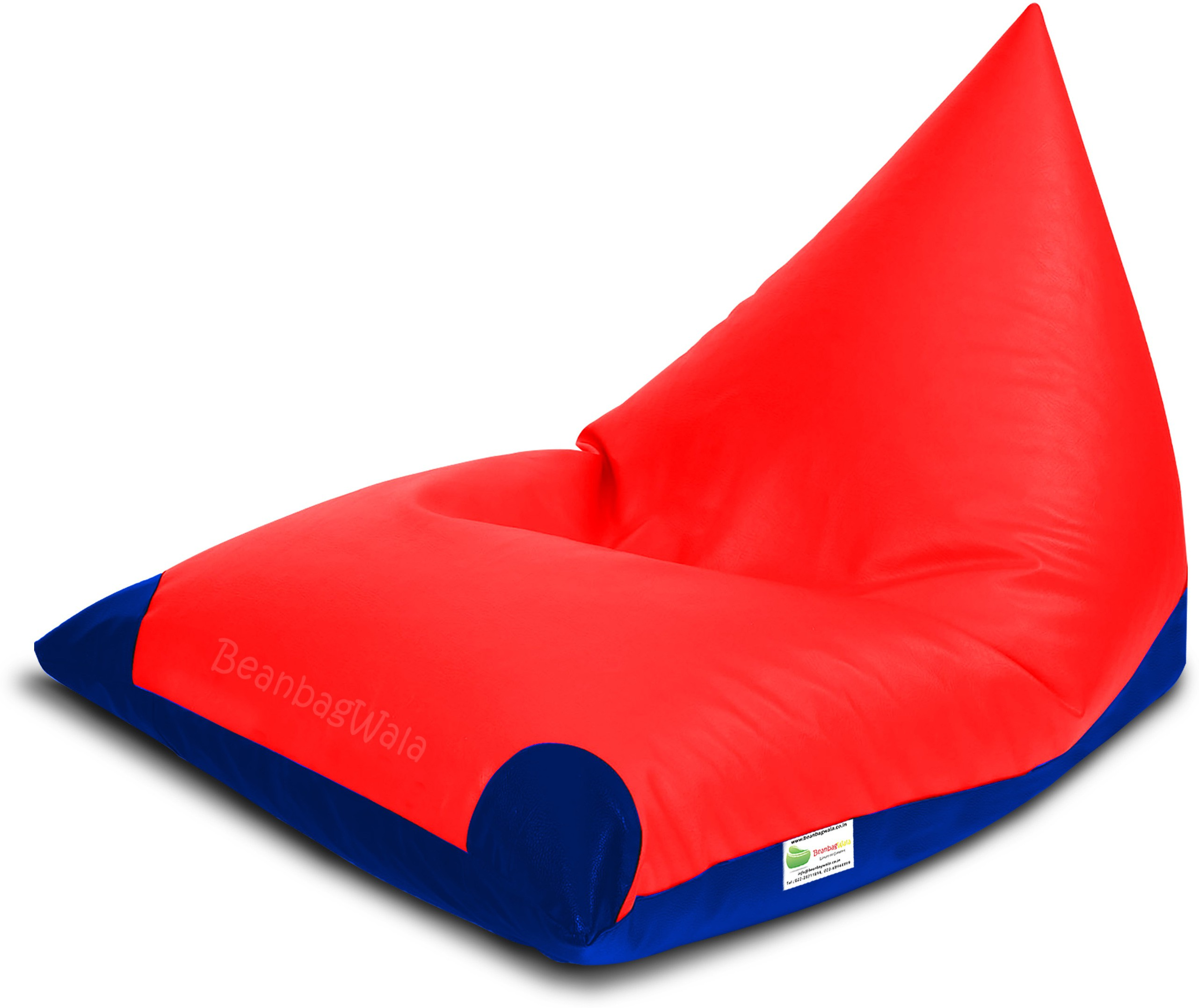 View Bean Bagwala XXXL BBWXXXL-02-Pyrd-Dual Bean Bag  With Bean Filling(Multicolor) Furniture (Bean Bagwala)
