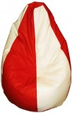 TJAR XXL Bean Bag Cover (Red)