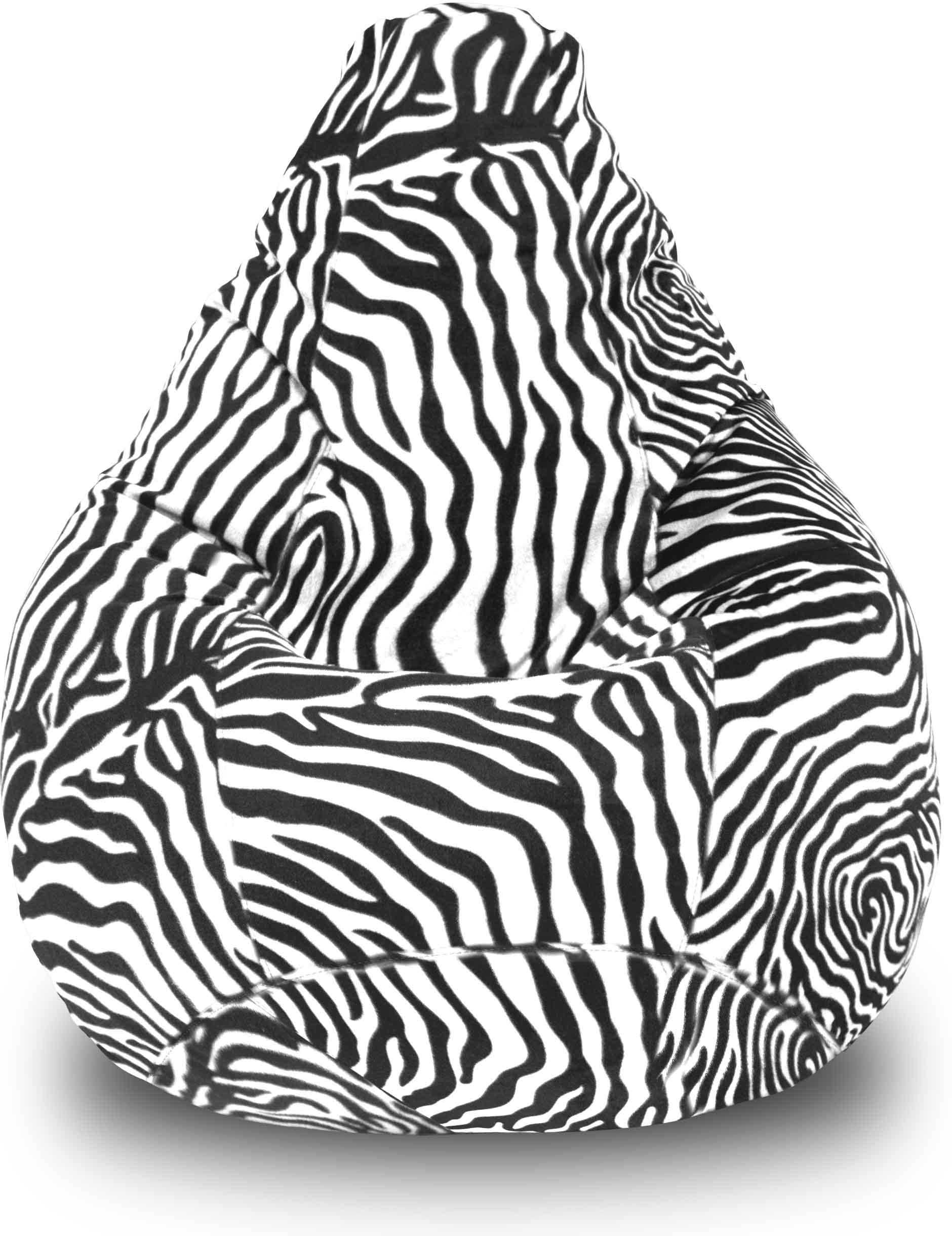 View Dolphin Bean Bags XXL Dolphin Xxl Bean Bag Zebra With Fillers/Beans