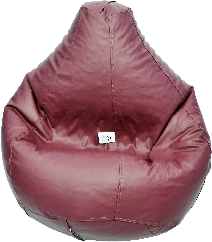Zecado XXL Bean Bag Cover(Maroon)   Furniture  (Zecado)