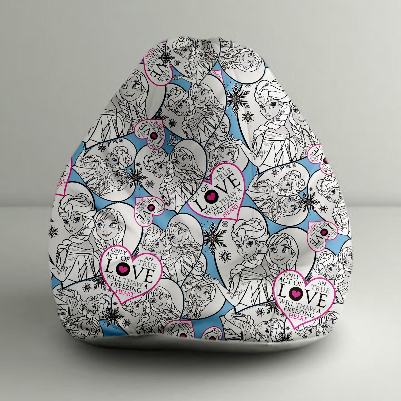 View Disney XXXL Bean Bag  With Bean Filling(White, Blue) Furniture (Disney)