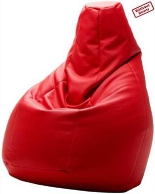 Fab Homez XXXL Bean Bag Cover(Red)