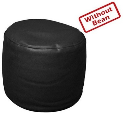 Star Medium Bean Bag Cover(Black)