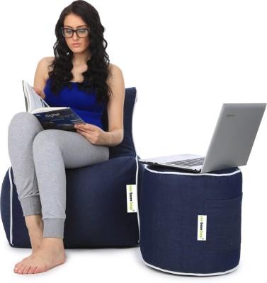 Can Bean Bag XL Bean Bag Chair  With Bean Filling