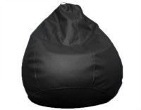 View Amatya Leatherette S Standard Kid Bean Bag(Foam Filling, Color - Black) Furniture (Amatya)