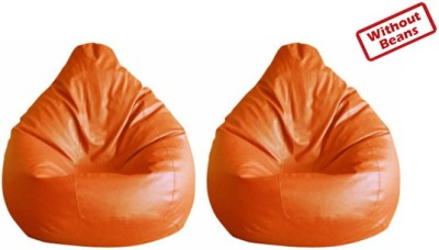 Fab Homez XXL Teardrop Bean Bag  Cover (Without Filling)