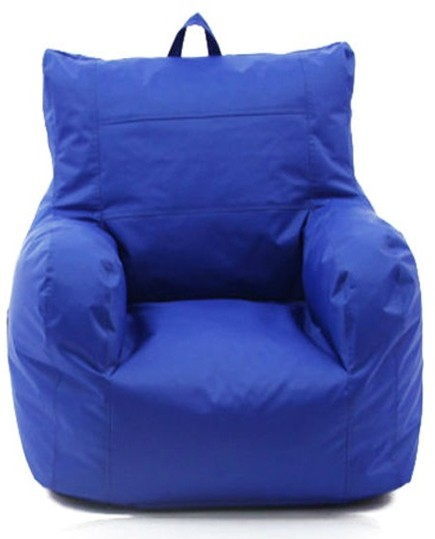 View Jigs XXXL Bean Bag Chair  With Bean Filling(Blue) Furniture (Jigs)
