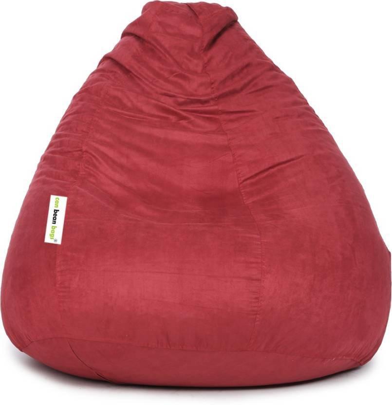 View JJ Design XXXL 22 Bean Bag  With Bean Filling(Pink) Furniture (JJ Design)