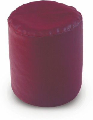 Dolphin Bean Bags Small DOLPHIN PUFFY BEAN BAG-MAROON-With Fillers/Beans Bean Bag  With Bean Filling