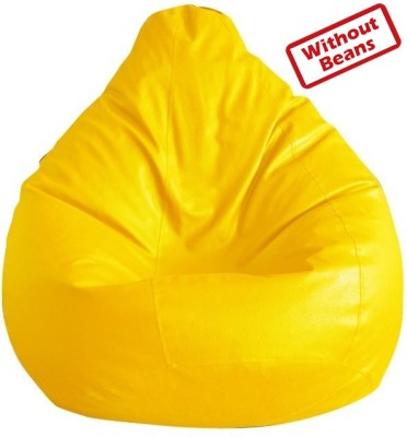 Anand Decor Large Teardrop Bean Bag  Cover (Without Filling)