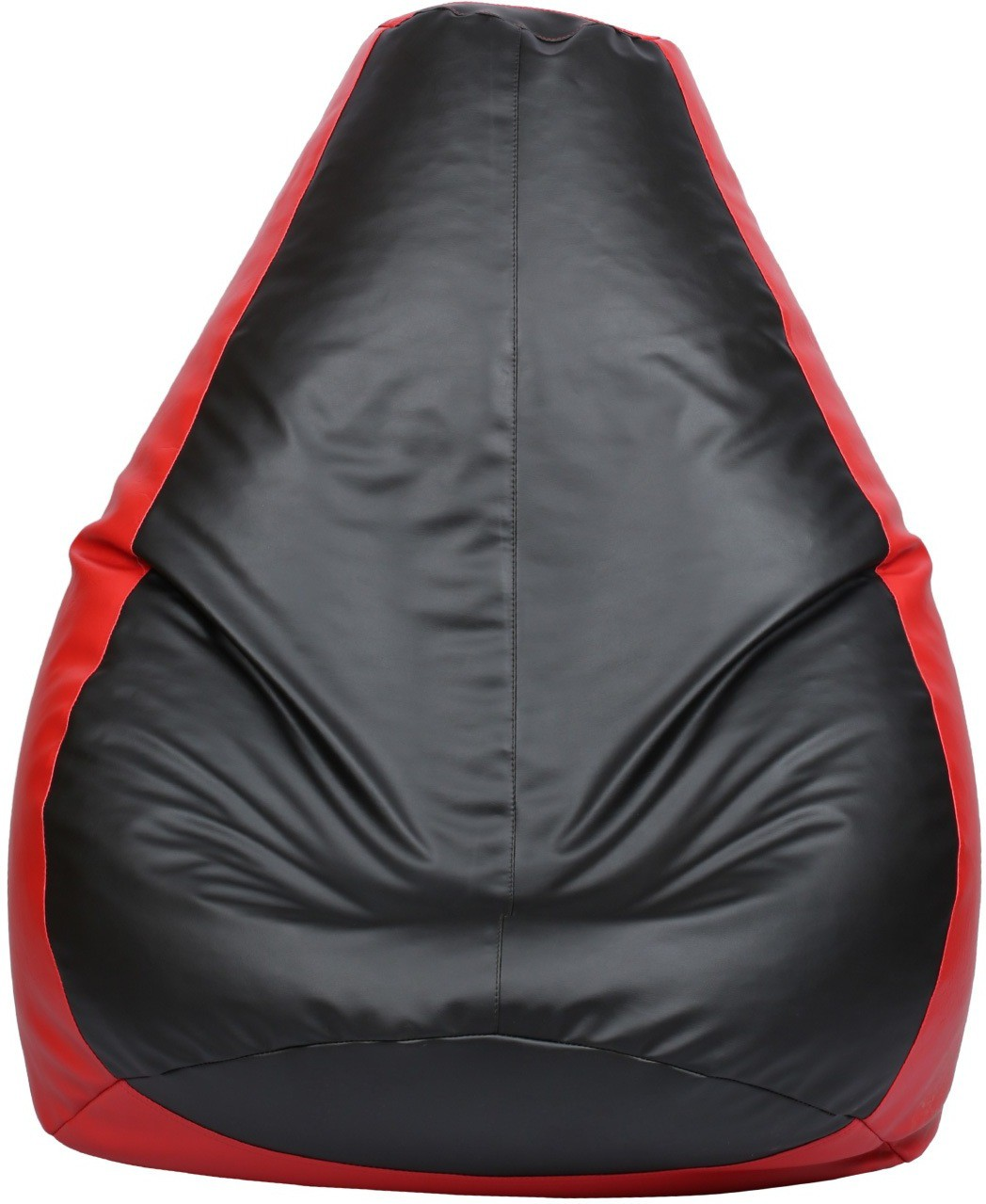 View VizwaSS XXL Teardrop Bean Bag  With Bean Filling(Black, Red) Furniture (VizwaSS)