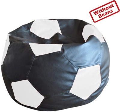 Fab Homez XXL Football Teardrop Bean Bag  Cover (Without Filling)