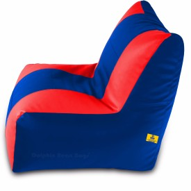 DolphinBeanBags XXL DOLXXL-REC-03 Bean Bag With Bean Filling(Multicolor)