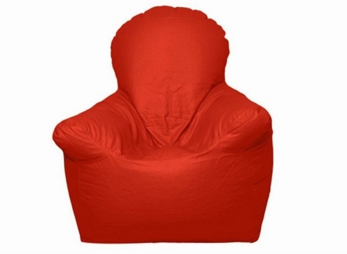 View Jigs XXXL Bean Bag Chair  With Bean Filling(Red) Furniture (Jigs)