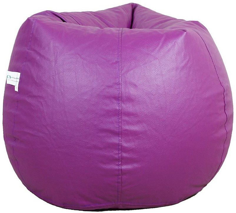 View Comfort XXXL Bean Bag  With Bean Filling(Purple) Furniture (Comfort)