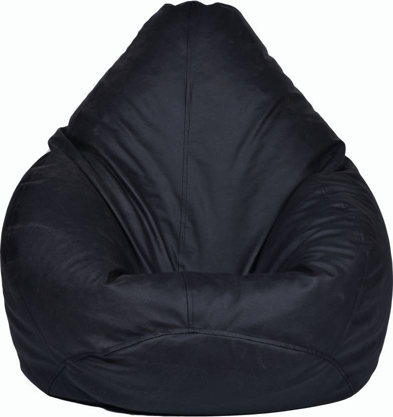 View JJ Design XXXL jjb_01 Bean Bag  With Bean Filling(Black) Furniture (JJ Design)