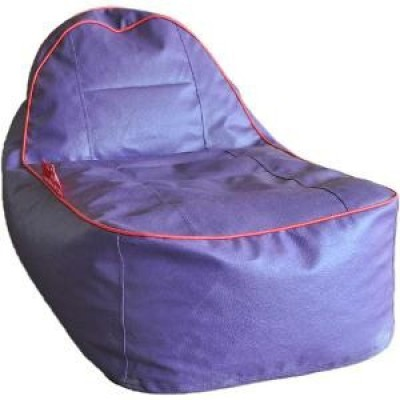 Star Large Acoustic Lounger Bean Bag  With Bean Filling(Purple)