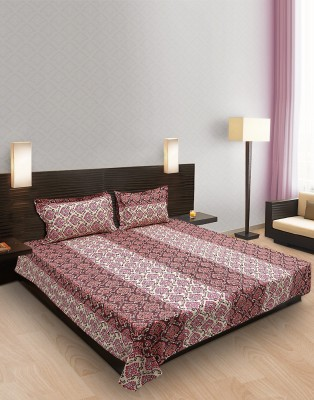 Tulip Cotton Double Bed Cover