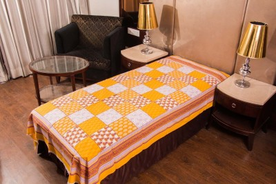 Manasvi innovation Cotton Single Bed Cover