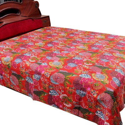 Jaipur Raga Cotton Double Bed Cover