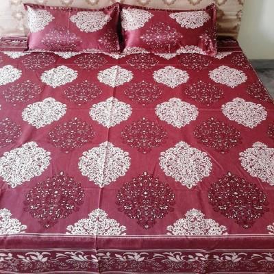 Natraj HL Cotton Viscose Blend Queen Bed Cover