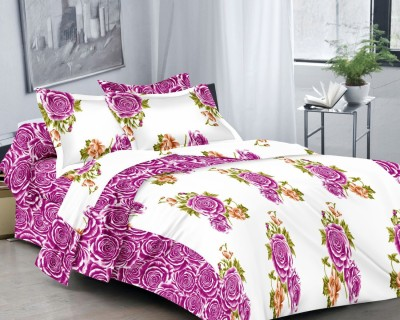 MIRACLE FURNISHINGS Cotton King Bed Cover
