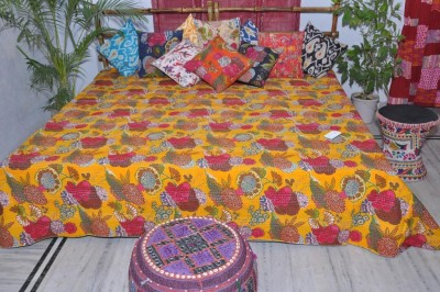 Maambay Cotton Double Bed Cover