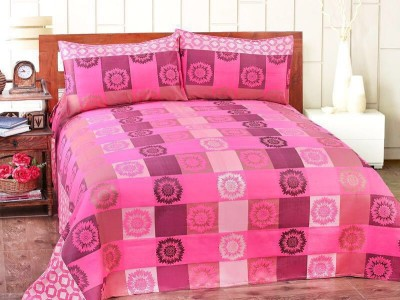 Victor bedcovers Cotton Viscose Blend Double Bed Cover