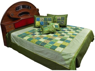 Great Art Silk Double Bed Cover