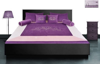 Home Boutique Velvet Double Bed Cover