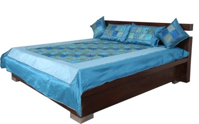 Indigenous Handicrafts Silk Double Bed Cover