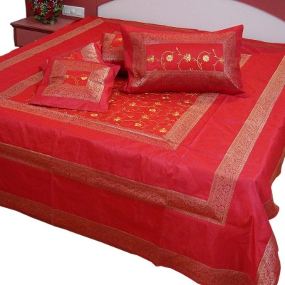 UFC Mart Silk Double Bed Cover