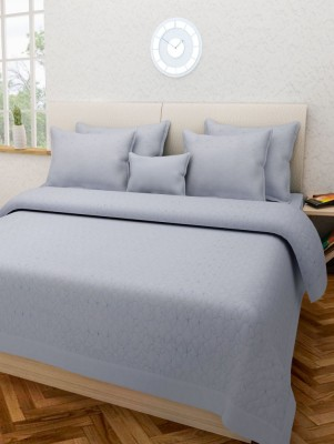 Swastika Cotton Double Bed Cover