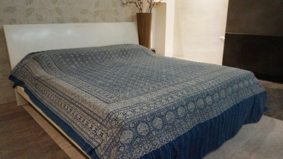 ABLAZE (INDIA) Cotton King Bed Cover