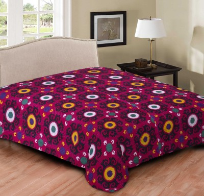 TexStyler Cotton Double Bed Cover
