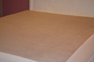 Sleepdry Cotton King Bed Cover