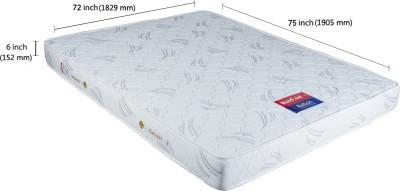 Kurlon Relish 6 inch King Spring Mattress(75x72x6 inch)