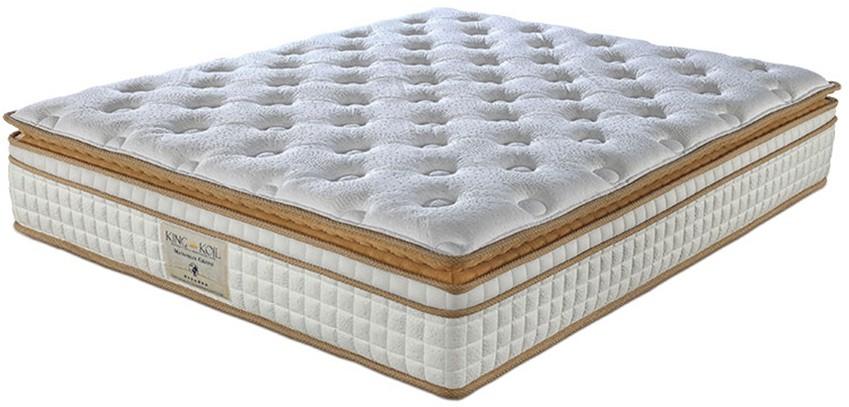 View King Koil Maharaja Grand 10 inch Single Pocket Spring Mattress Furniture (King Koil)