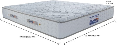SPRINGFIT RDUAL80726 6 inch King Foam Mattress