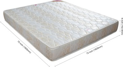 Springwel Comfort Collection 6 inch King Spring Mattress