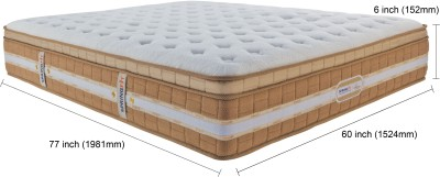 SPRINGFIT CCNATURA78606 6 inch Queen Spring Mattress