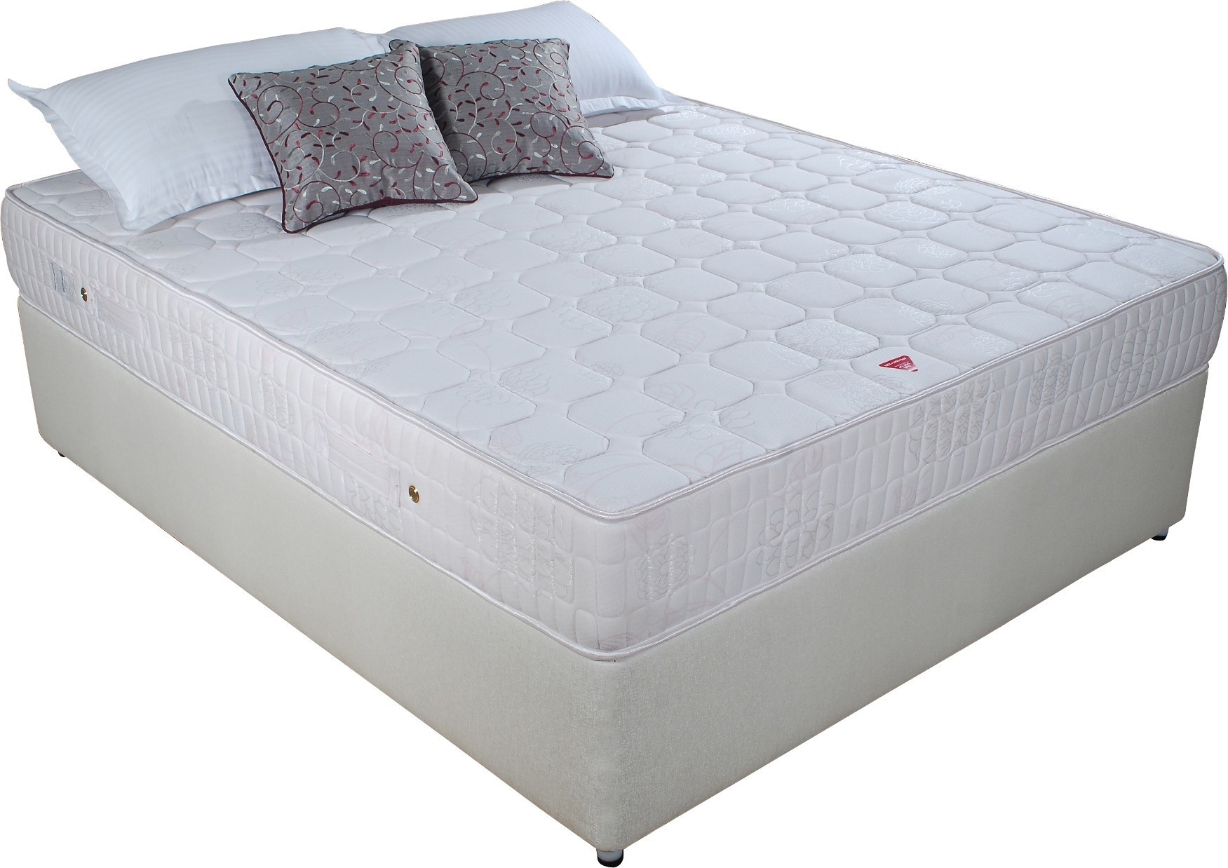 Springwel Softech Series 10 inch King Spring Mattress