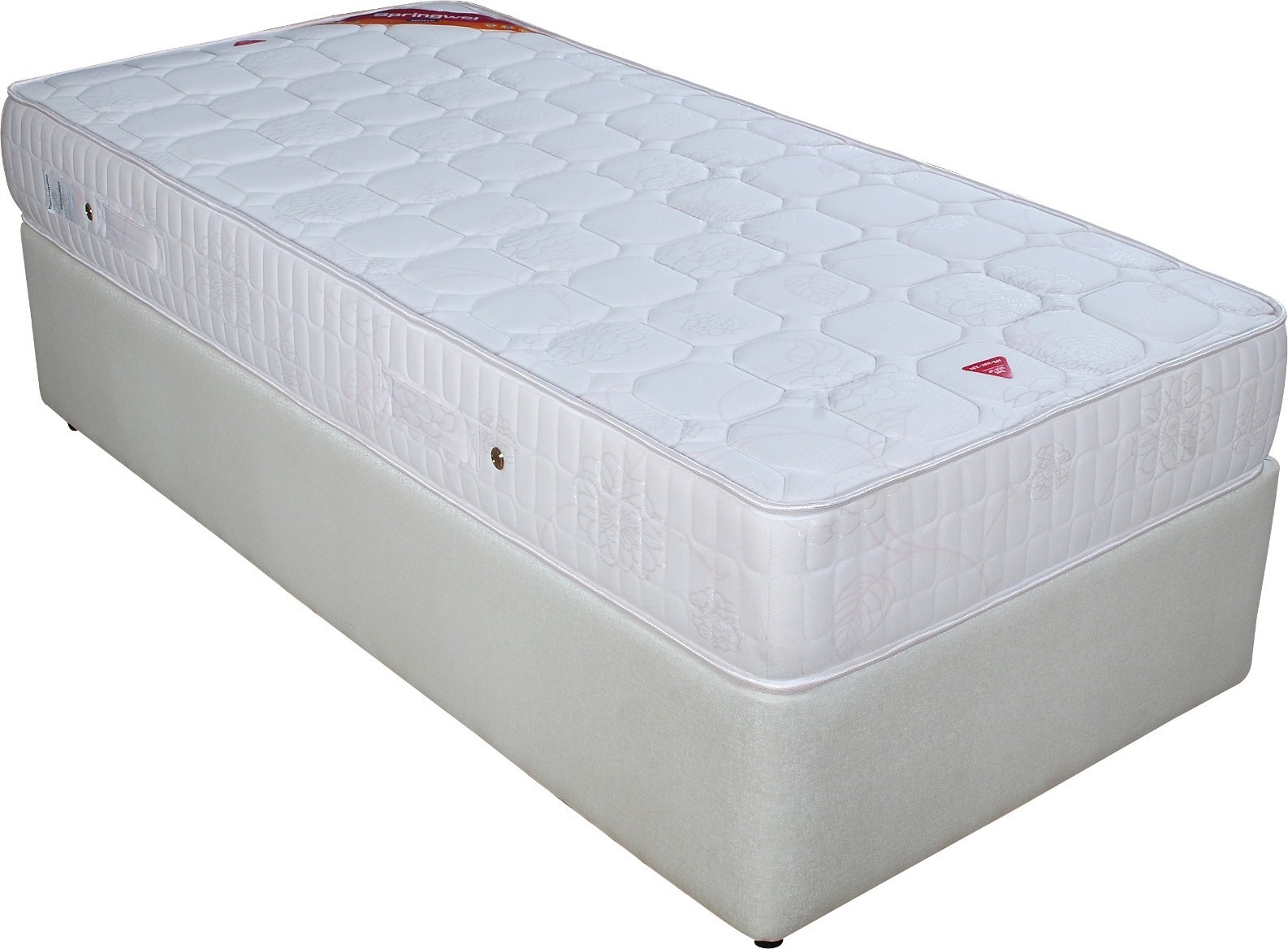 Springwel Softech Series 10 inch Single Spring Mattress